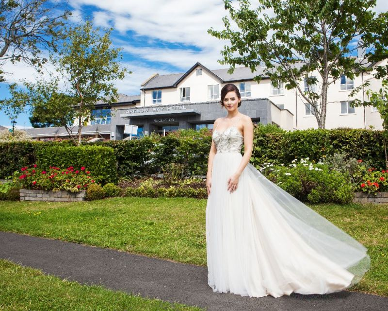Wedding photos around Arklow Bay Hotel