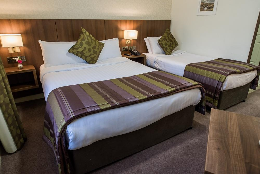 Arklow Bay Hotel bedroom Twin