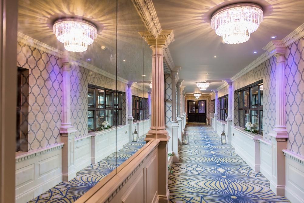 Arklow Bay Hotel entrancce to ballroom