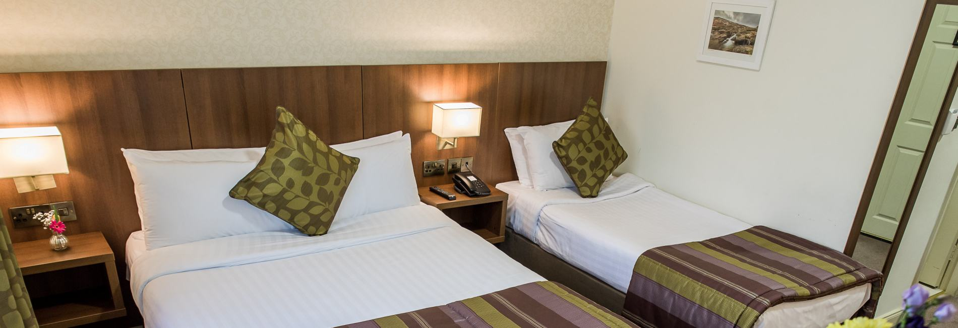 Arklow Bay Hotel family friendly bedroom