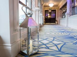 Arklow Bay Hotel lantern in walkway