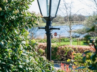 Arklow Bay Hotel light shot - garden