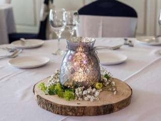 Arklow Bay Hotel table display wedding