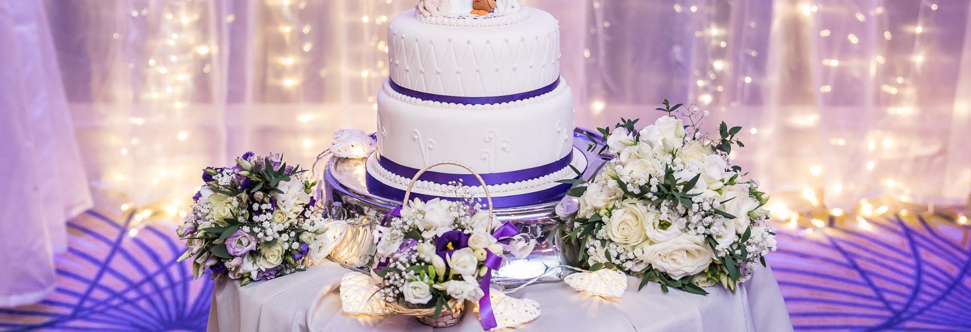 Arklow Bay Hotel wedding cake