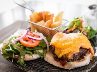 Arklow Bay Hotel burger